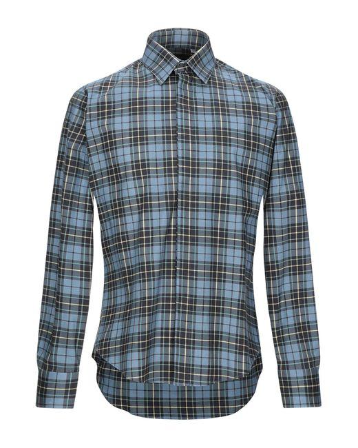 Chemise Stella Jean pour homme en coloris Blue