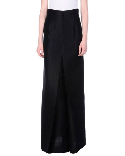 DSquared² - Black Long Skirts - Lyst