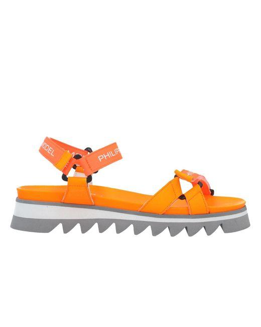 Philippe Model Orange Sandale