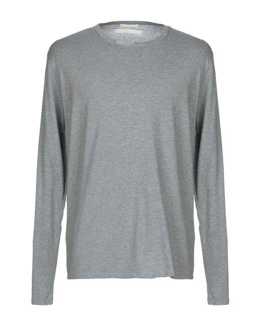 T-shirt Mauro Grifoni pour homme en coloris Gray