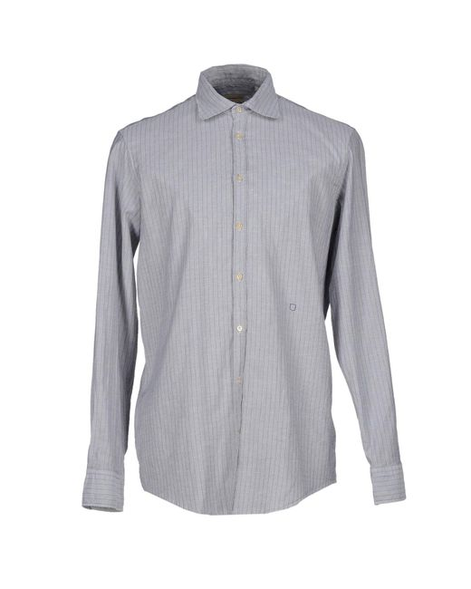 Massimo Alba | Gray Shirt for Men | Lyst