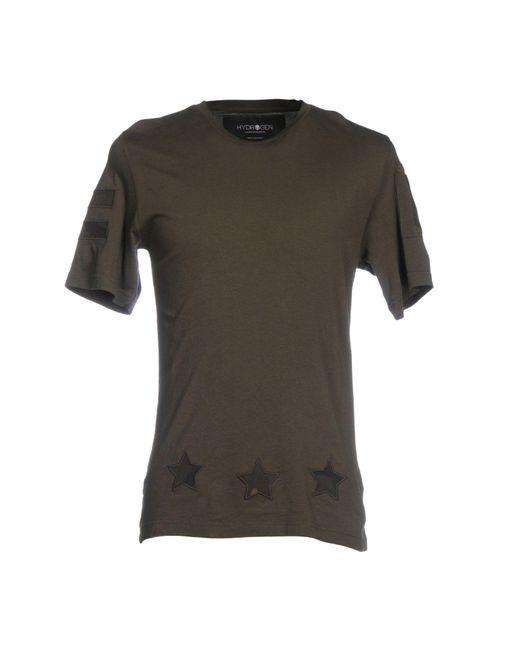 Hydrogen | Green T-shirt for Men | Lyst