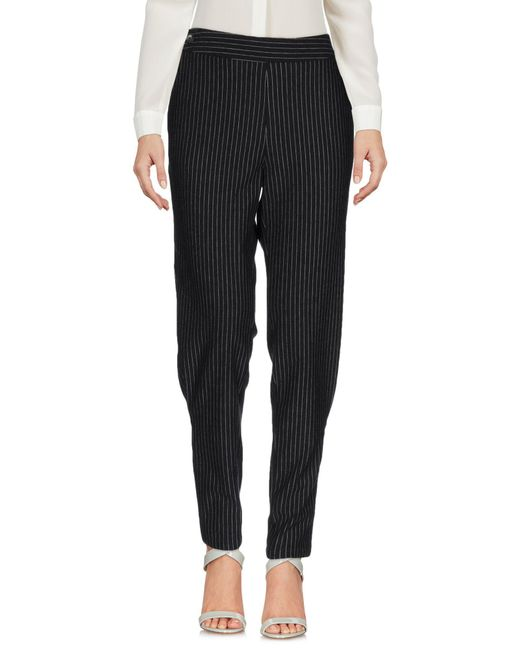 Thakoon Addition - Gray Casual Pants - Lyst