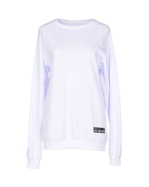 Anna K - White Sweatshirt - Lyst
