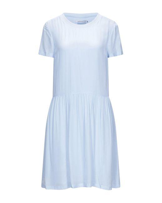 Vestito corto di Calvin Klein in Blue