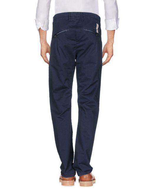 Pantalone di Novemb3r in Blue da Uomo