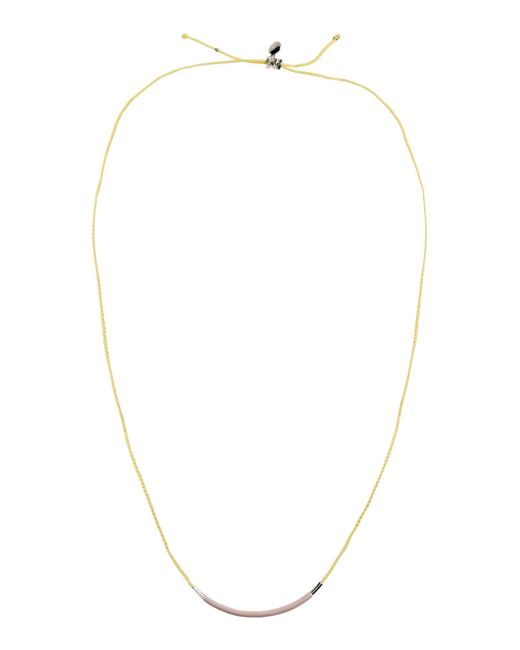 Marc By Marc Jacobs - Yellow Necklace - Lyst