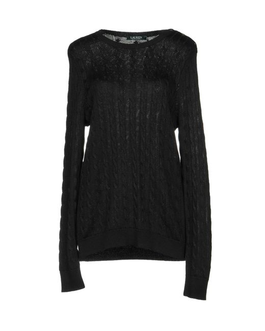 Lauren by Ralph Lauren Black Jumper