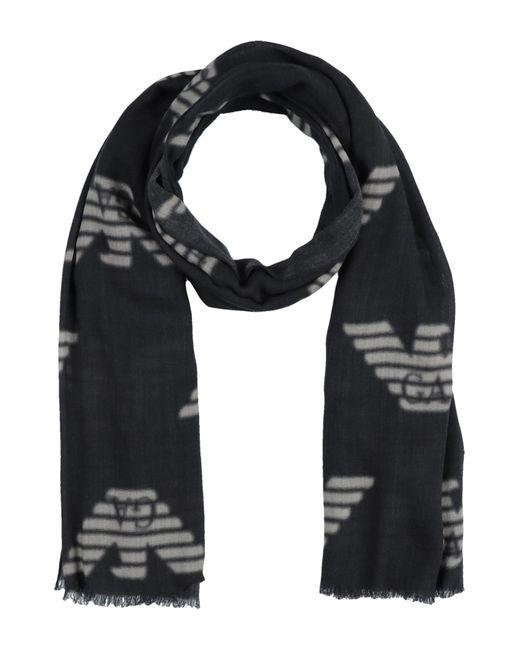 Étole Emporio Armani en coloris Black