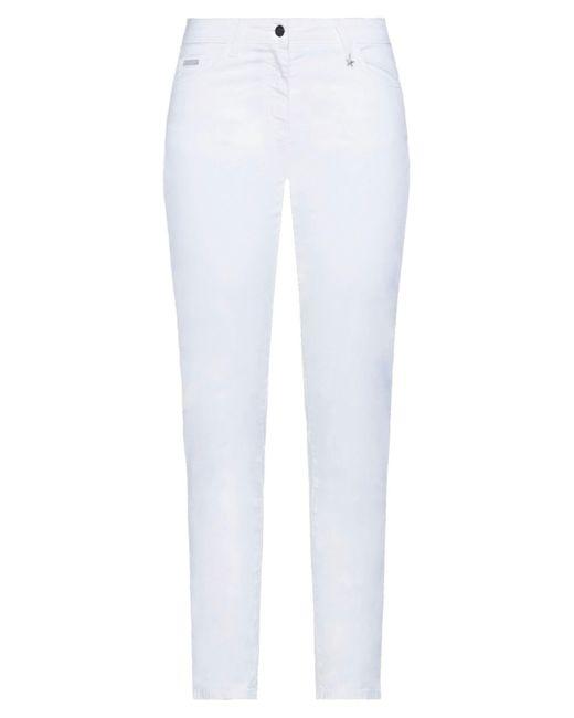 Baroni White Casual Trouser