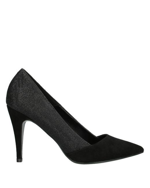 06 Milano Zapatos de salón de mujer de color negro