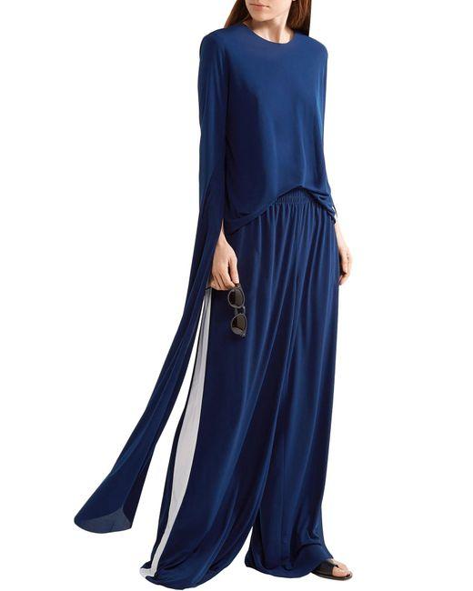 Norma Kamali T-shirt da donna di colore blu