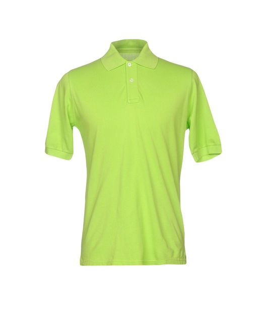 Fedeli - Green Polo Shirts for Men - Lyst