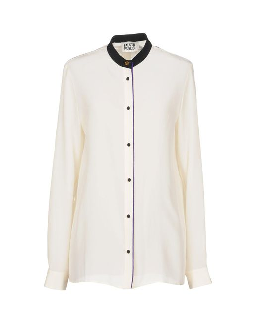 Fausto Puglisi - White Shirt - Lyst