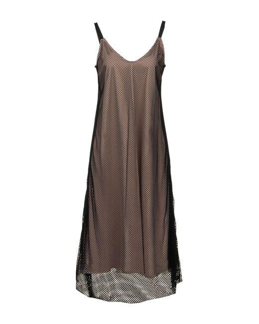 Souvenir Clubbing Black 3/4 Length Dress