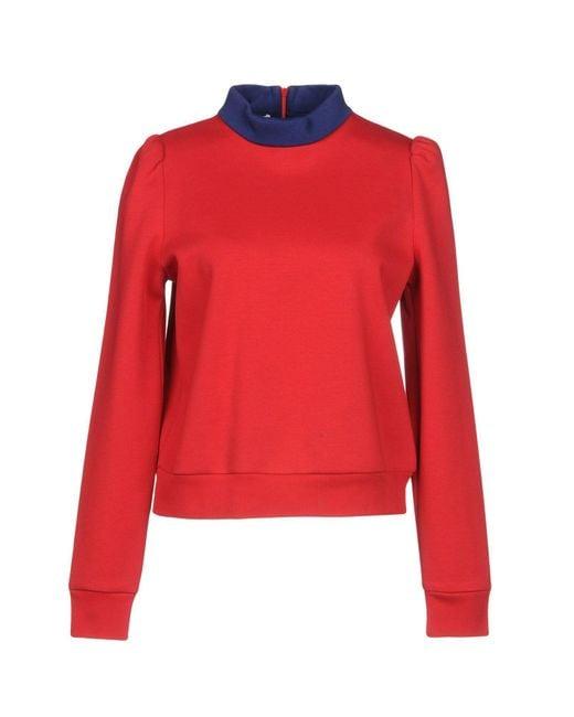 Philosophy Di Lorenzo Serafini - Red Sweatshirt - Lyst