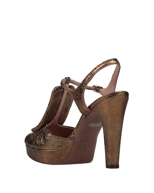 L'Autre Chose Brown Sandale