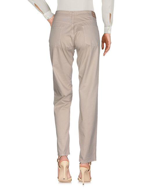 Pantalones Fay de color Natural
