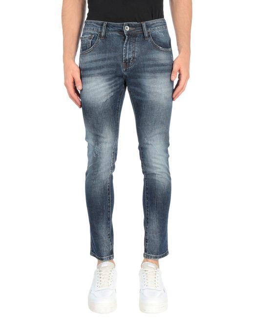Pantalon en jean AT.P.CO pour homme en coloris Blue