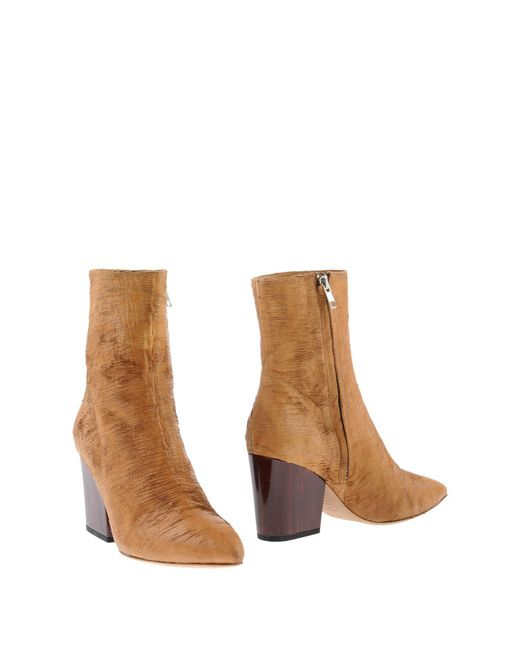 IRO Natural Ankle Boots