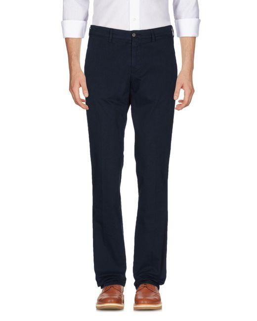 Aspesi Blue Casual Pants for men