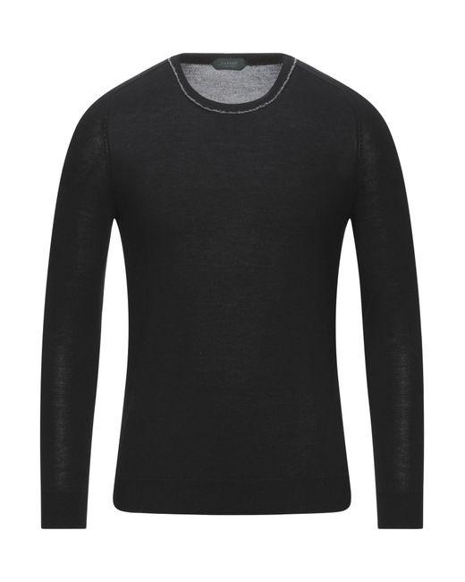Pullover di Zanone in Black da Uomo