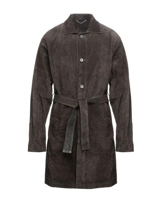 Golden Goose Deluxe Brand Multicolor Overcoat for men