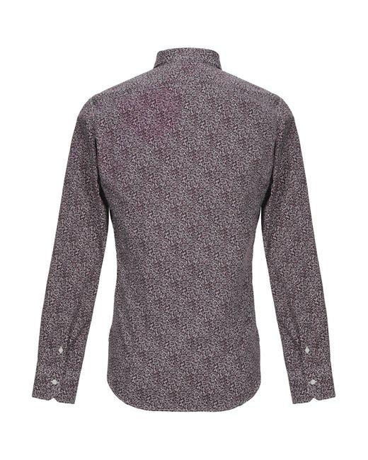 Mp Massimo Piombo Hemd in Purple für Herren