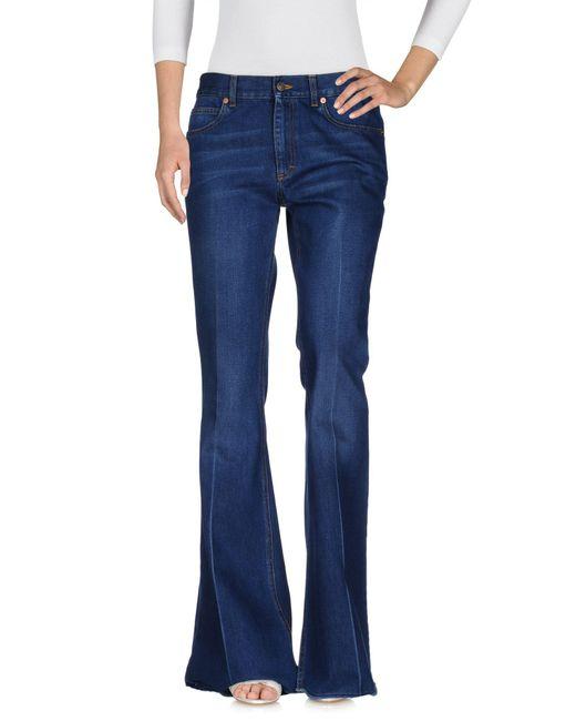 Gucci Blue Denim Pants