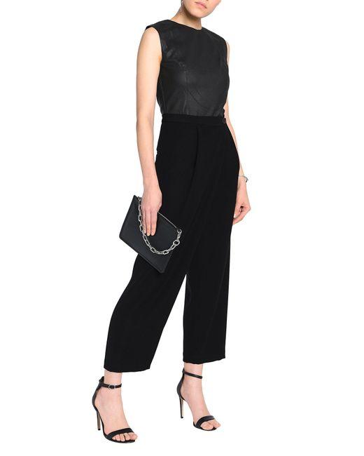 McQ Pantalon femme de coloris noir