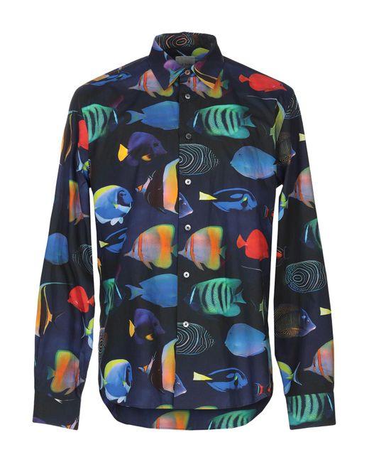Paul Smith - Blue Shirt for Men - Lyst