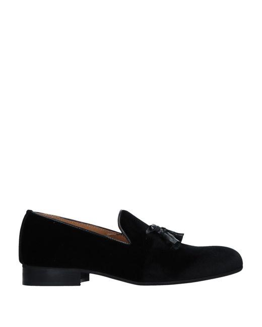 Alberto Moretti - Black Loafers for Men - Lyst
