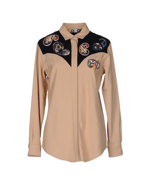 MSGM - Multicolor Shirt - Lyst