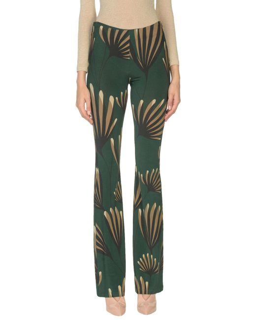 Siyu Pantalones de mujer de color verde