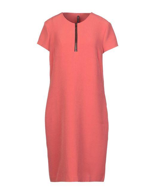 Vestito corto di Manila Grace in Pink