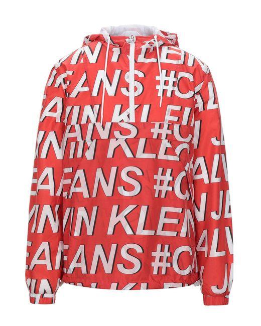 Calvin Klein Red Jacket for men