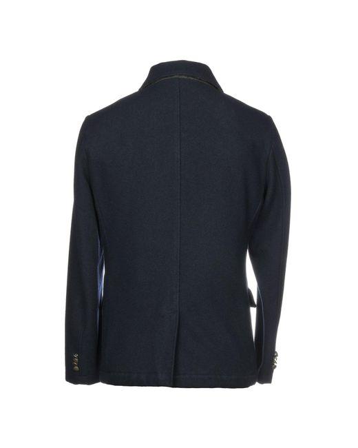 Manteau long AT.P.CO pour homme en coloris Blue