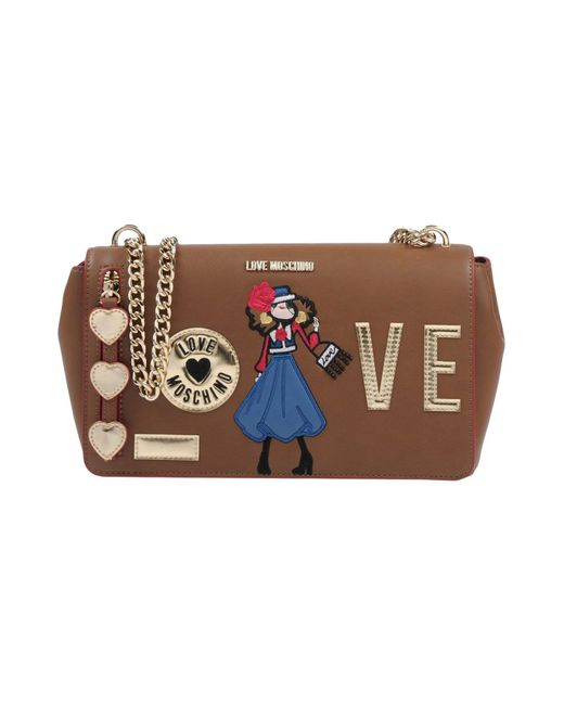 Love Moschino - Brown Cross-body Bag - Lyst
