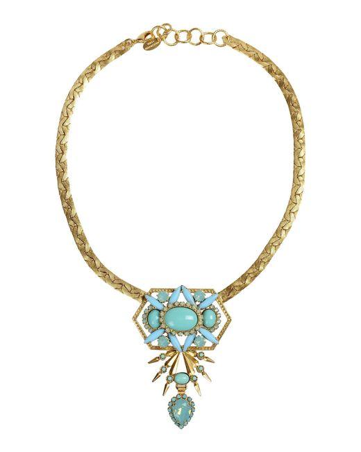 Elizabeth Cole | Multicolor Necklace | Lyst