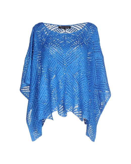Ralph Lauren Black Label | Blue Sweaters | Lyst