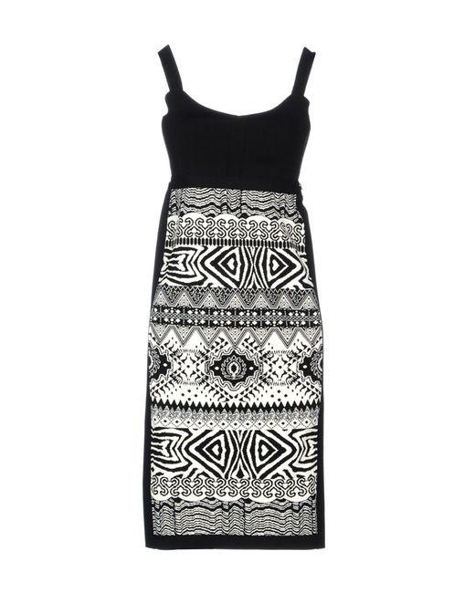 Angelo Marani | Black Short Dress | Lyst