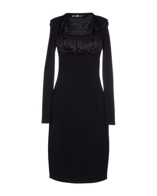 DSquared² | Black Short Dress | Lyst