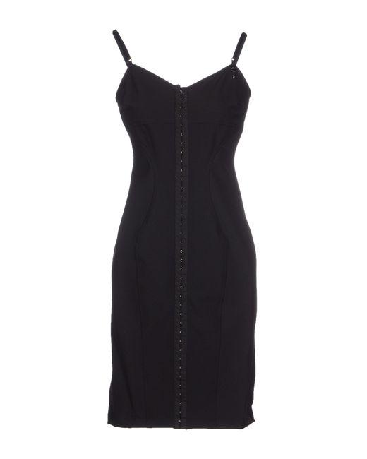 GAUDI | Black Short Dress | Lyst