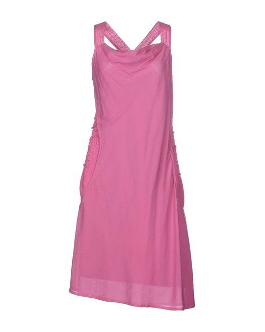 Manila Grace | Purple Knee-length Dress | Lyst