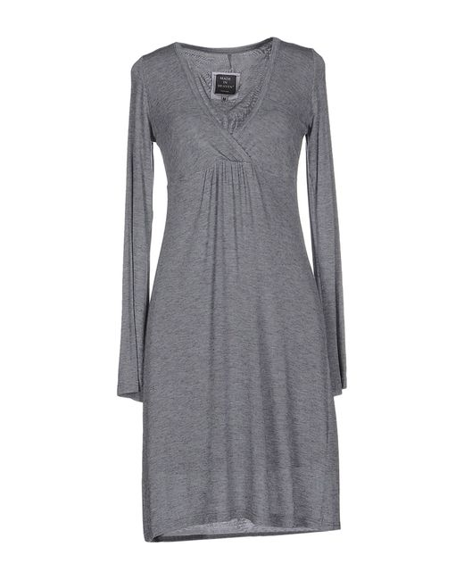 Made In Heaven | Gray Short Dress | Lyst