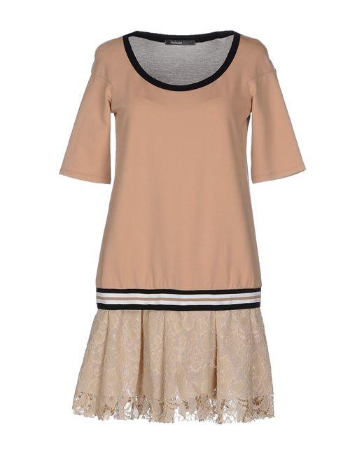 Pianurastudio   Gray Short Dress   Lyst
