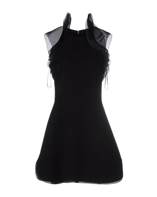 Giambattista Valli | Black Short Dress | Lyst