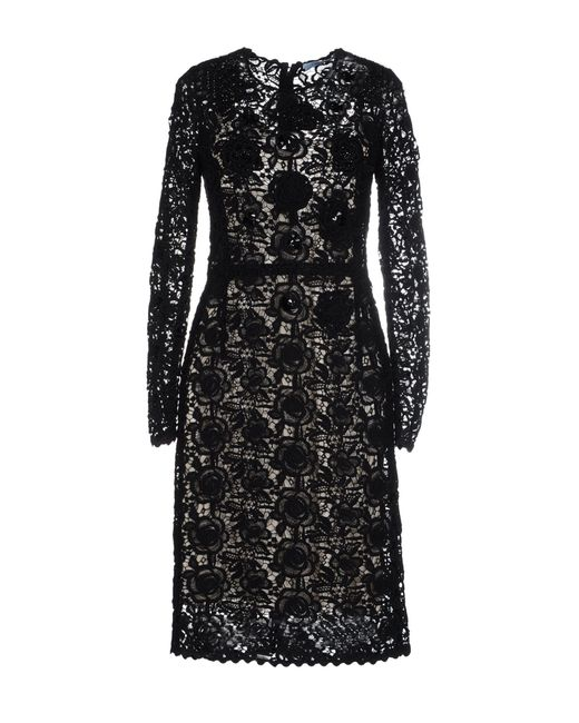 Blumarine | Black Short Dress | Lyst