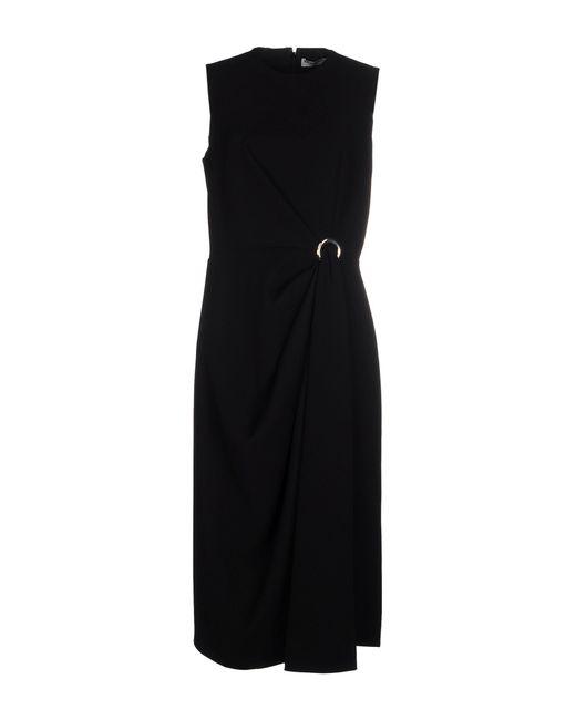Balenciaga | Black 3/4 Length Dress | Lyst
