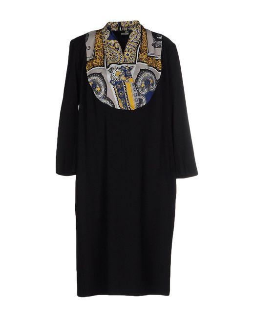 Love Moschino | Black Knee-length Dress | Lyst